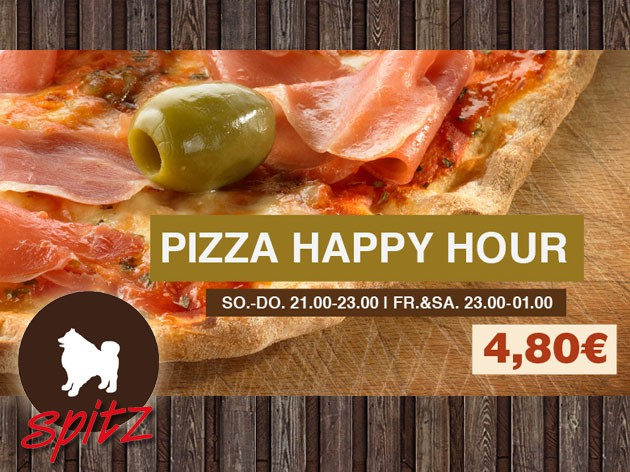 Café Spitz: Pizza Happy Hour