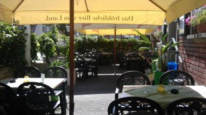 Gasthof Schwarzes Kreuz: Terrasse