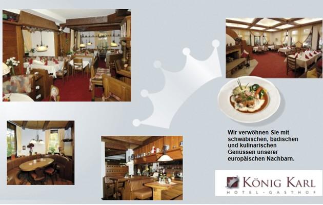 Hotel Gasthof König Karl: HERZLICH WILLKOMMEN im Hotel - Gasthof KÖNIG KARL