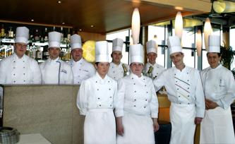 Restaurant Kohlibri                            €€€: Das Küchenteam
