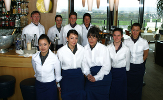 Restaurant Kohlibri                            €€€: Das Serviceteam