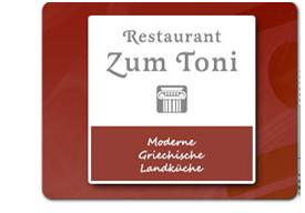 Griechisches Restaurant zum Toni · 70806 Kornwestheim, Holzgrundstraße 30