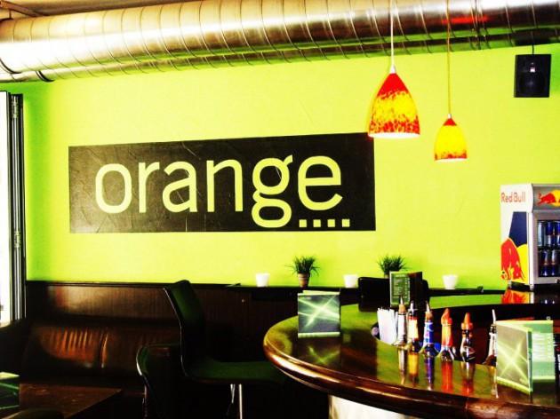 orange REST-O-BAR: Herzlich Willkommen