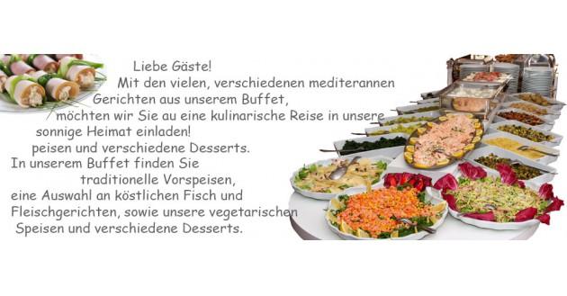 Restaurant Arkadia: Unser reichhaltiges Buffet
