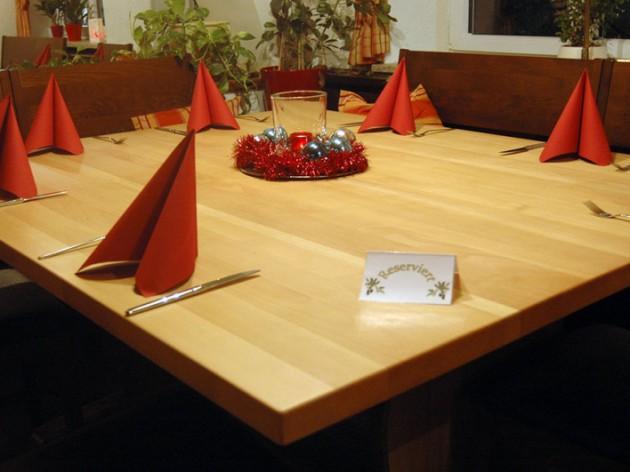 """Restaurant Arkadia: und hier ist vielleicht Ihr """"Lieblingstisch"""" bei uns."""