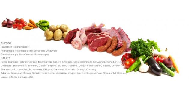 Restaurant Arkadia: Darf es was gesundes und schmackhaftes sein?