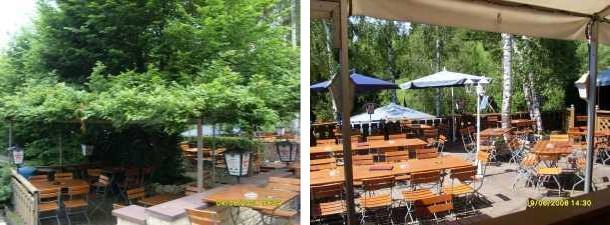 Gaststätte Rosengarten: Wir sind der schwäbische Biergarten, am Fuße der Achalm in Reutlingen.