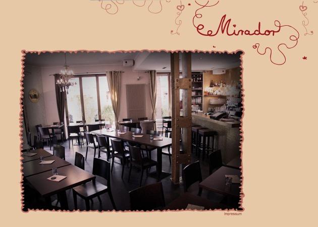 Restaurant Mirador: Herzlich willkommen