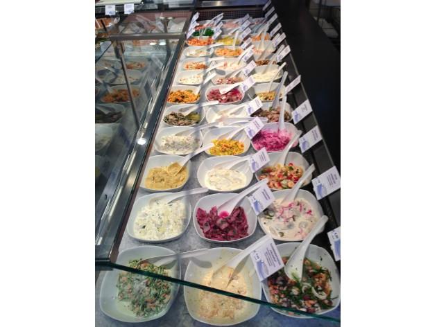 Fischspezialitäten Markthalle-Reutlingen: Fisch-Salate