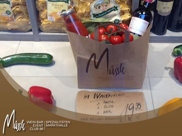 Müssle  -  Wein-Bar I Club 86 I Event: Spezialitäten