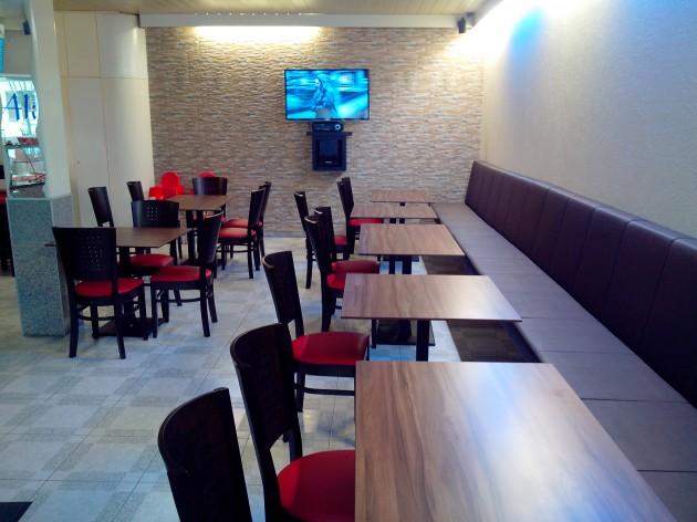 Ali Baba Pizza und Döner - Hüttlingen: Unser Gastraum