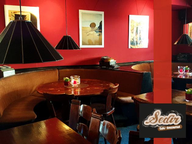 Sedir | Cafe - Restaurant: Der Innenbereich