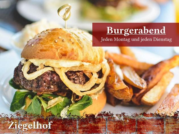 Gaststätte Ziegelhof: Burgerabend