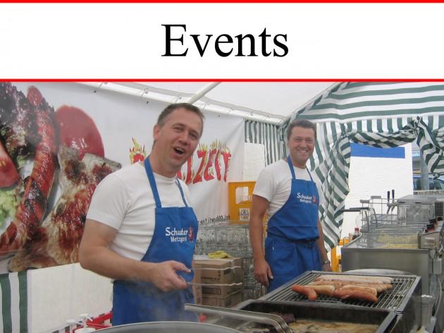 Markt-Metzgerei Schuster:  Partyservice Events