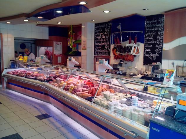 Markt-Metzgerei Schuster: Unser Verkaufsraum