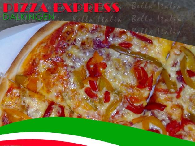 Pizza Express Dalkingen: Pizza