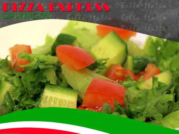 Pizza Express Dalkingen: Salat