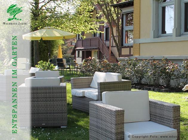 Waldhaus Jakob | Hotel - Restaurant: Erholung pur!
