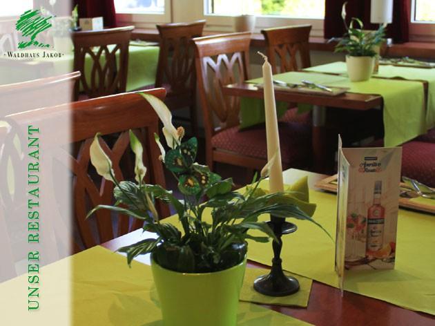 Waldhaus Jakob | Hotel - Restaurant: Genussvoll verwöhnen!