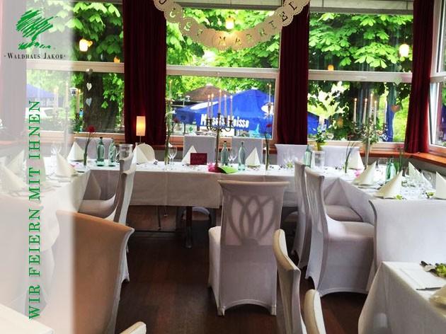 Waldhaus Jakob | Hotel - Restaurant: FEIERN & VERANSTALTUNGEN