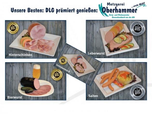 Metzgerei Oberhammer - Gerstetten: Frische Fleisch- und Wurstwaren.