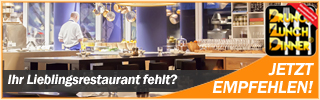 Empfehlen Sie ihr Lieblingsrestaurant