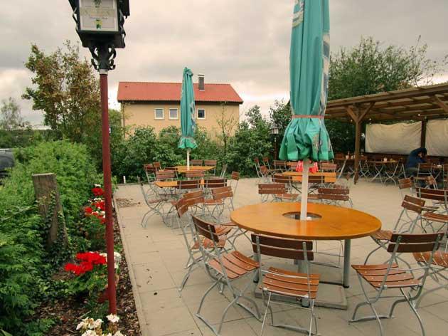 Gaststätte Turnerheim: Unsere Terrasse