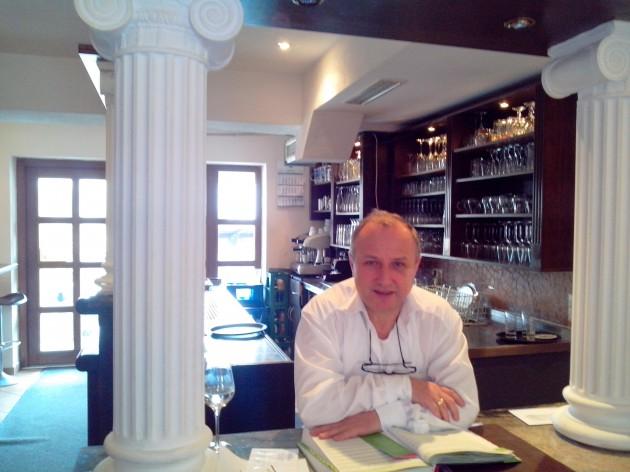 Restaurant Delphi - Aalen: Hier ist der Chef immer da