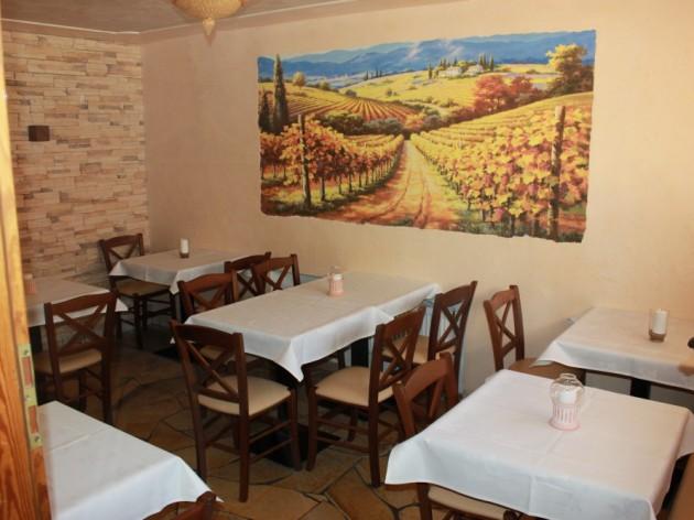 Pizzeria - La Rustica: Unser Nebenraum