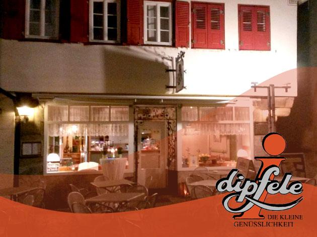 i-dipfele: Restaurant i-dipfele in Marbach am Neckar