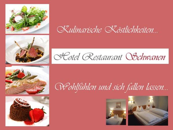 *** Hotel Restaurant Schwanen: HERZLICH WILLKOMMEN