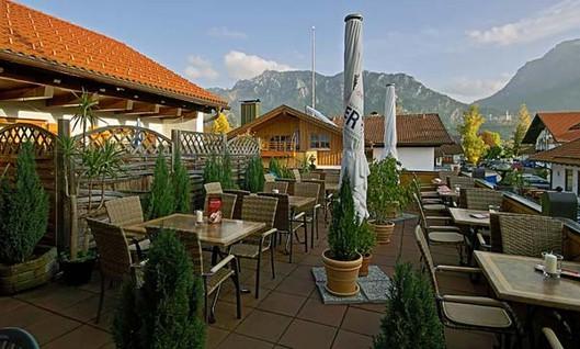 Hotel & Restaurant Hanselewirt: Dachbiergarten