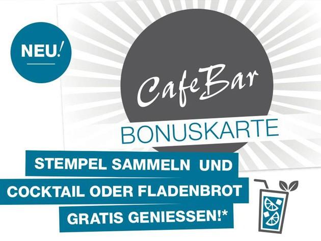 Cafe Bar - am Marktplatz: NEU! Cafe Bar Bonuskarte