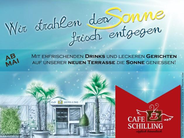Cafe Schilling: Jetzt kann der Sommer kommen