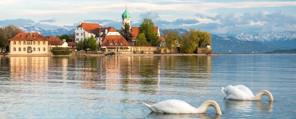 Restaurants in Wasserburg am Bodensee