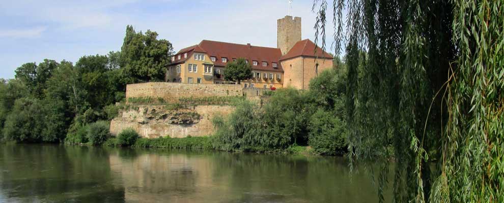 Blick auf die Klosteranlag