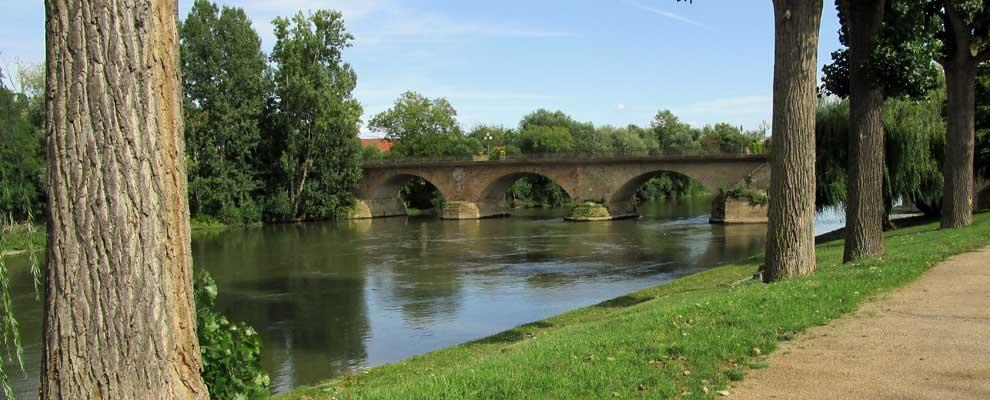 Neckarbrücke in Lauffen