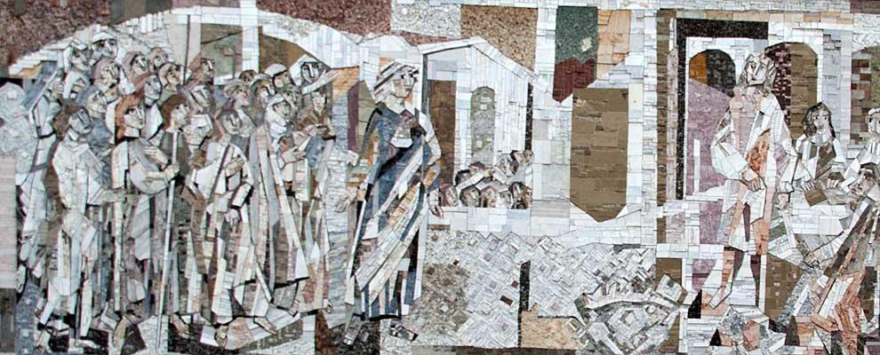 Schorndorf Mosaik am Rathaus
