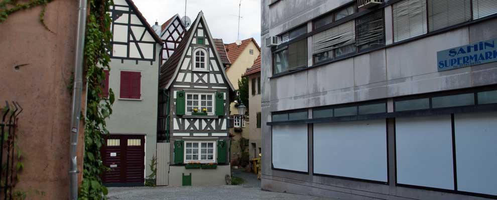 Kleinstes Haus in Schorndorf