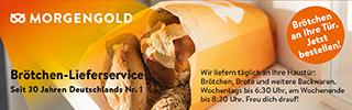 Brötchen-Lieferservice Frühstück