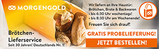Brötchen-Lieferservice