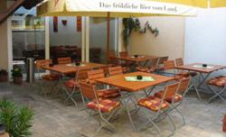 L'Osteria Amici Gaststätte: Garten