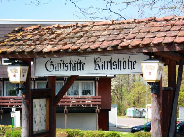 Cafe Restaurant Karlshöhe: