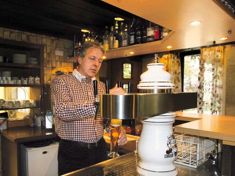 """Landhotel und Landgaststätte  """"Zur Pfanne"""": Hier könnte Ihr nächstes Bier gezapft werden."""