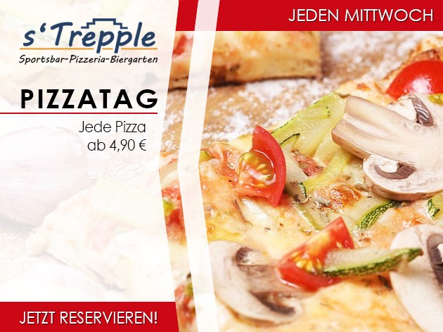 s'Trepple Sportbar: Pizzatag...