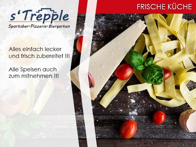 s'Trepple Sportbar: FRISCH...