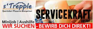 Stellenanzeige | Servicekraft | Minijob