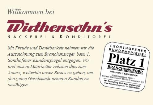 Wirthensohn Bäckerei und Konditorei: