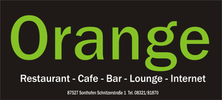 orange REST-O-BAR · 87527 SONTHOFEN, SCHNITZERSTRASSE 1
