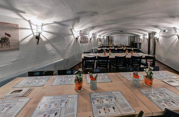 Brauereigaststätte Dinkelacker: Gewölbekeller-Veranstaltungsraum & Eventlocation